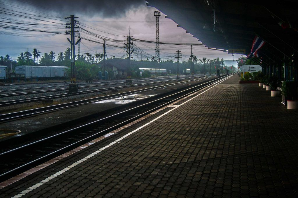 Estación de tren, Chumphon