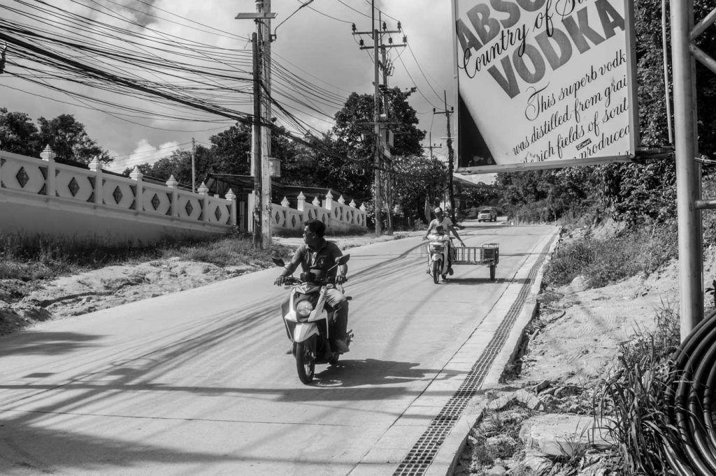 Alquiler motos en Koh Tao