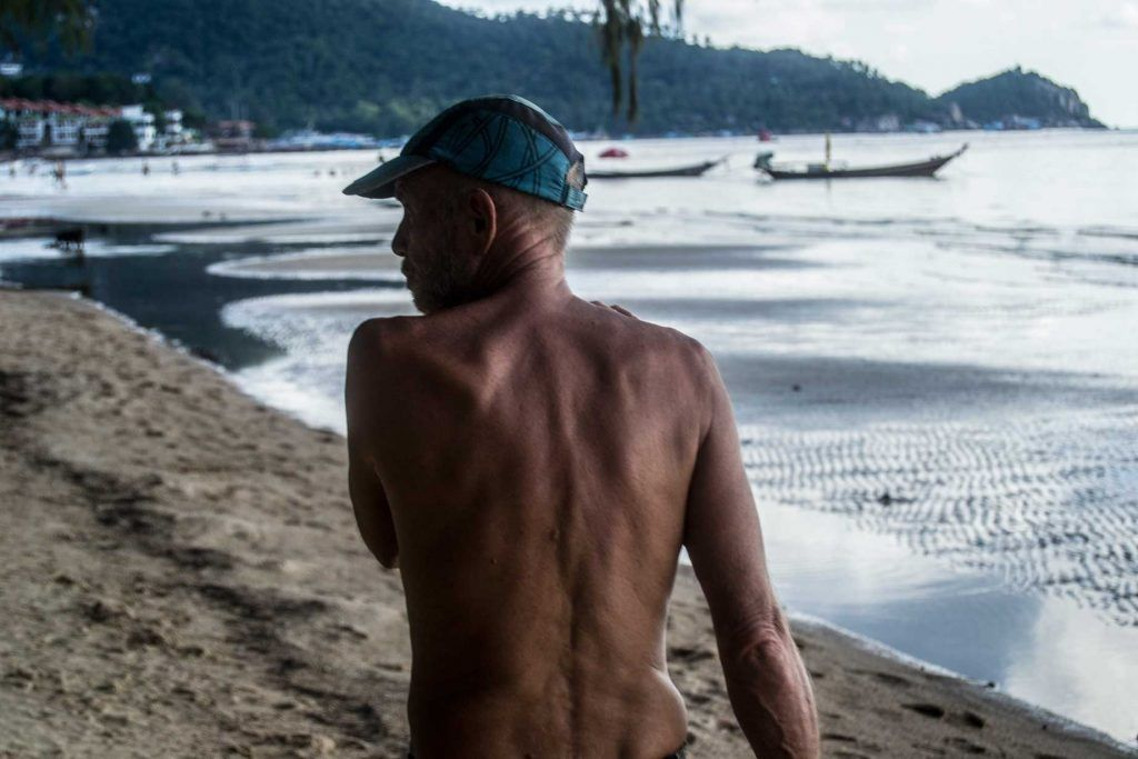 Pescadores tailandeses