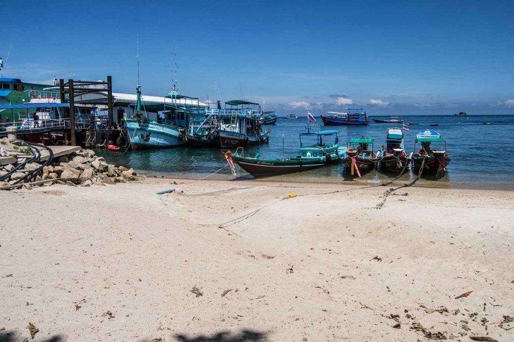 Mae Haad Pier - Koh Tao