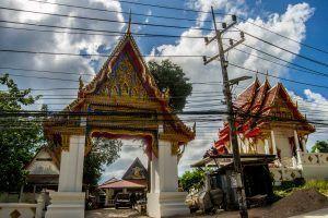 Templo- El interior de Koh Tao