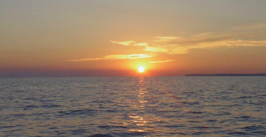 Puesta de Sol, Isla Cabrera
