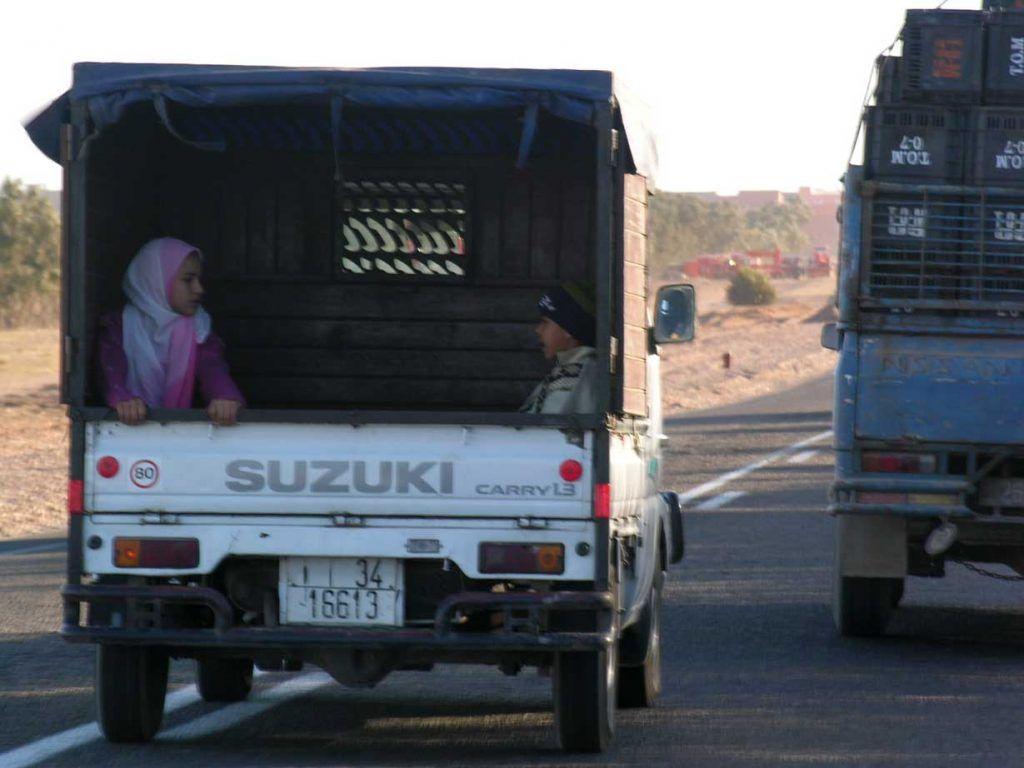 Caravanas desierto