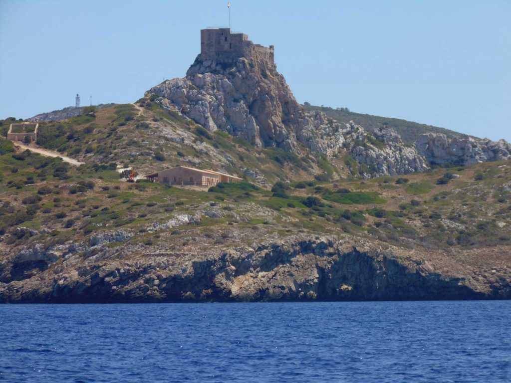 Paisaje, Castillo Isla Cabrera