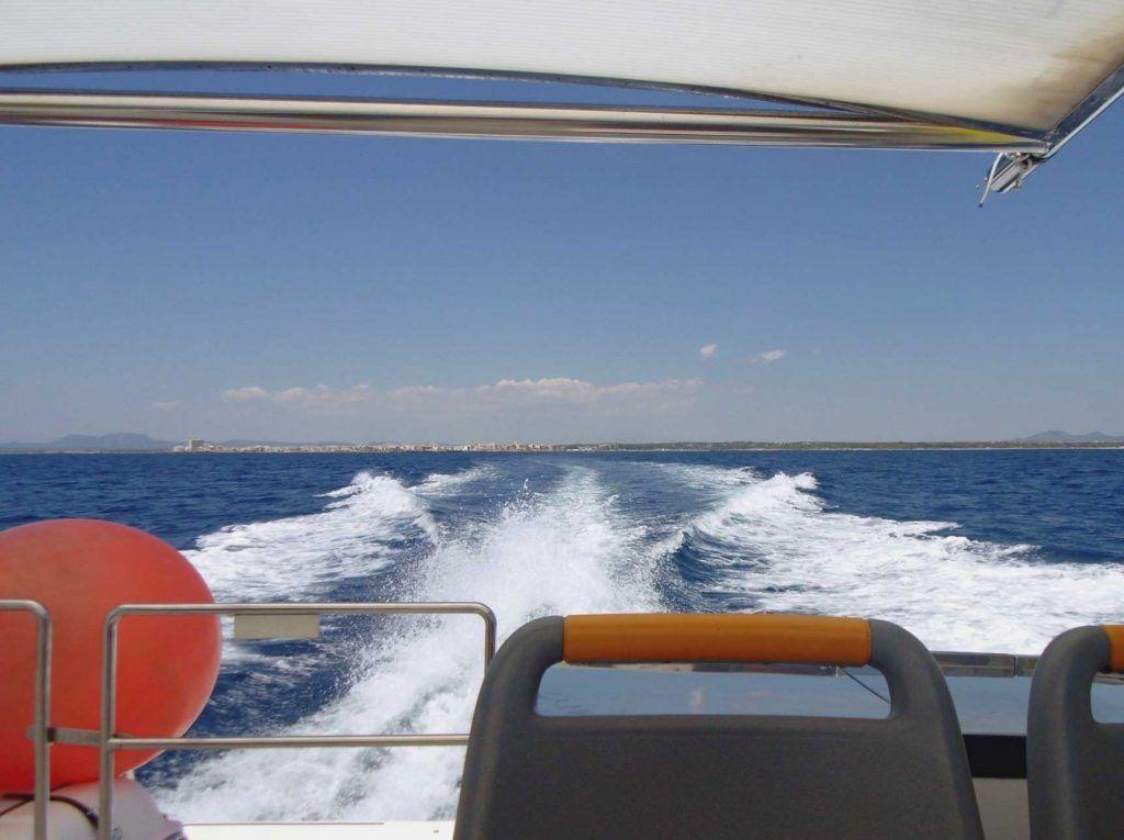 Viajar barco, Isla Cabrera