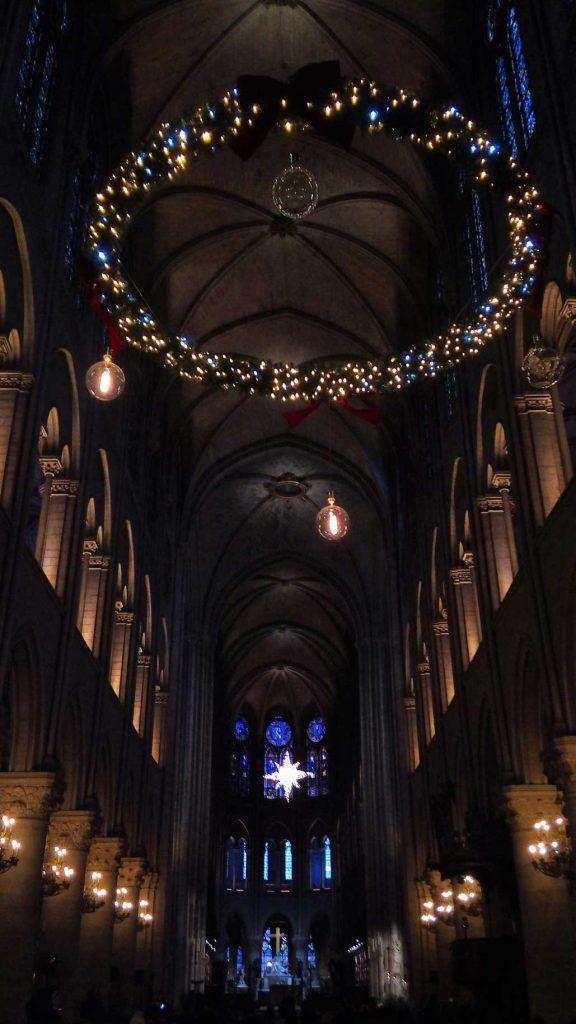 Catedral de Notre Dame adornos Navidad