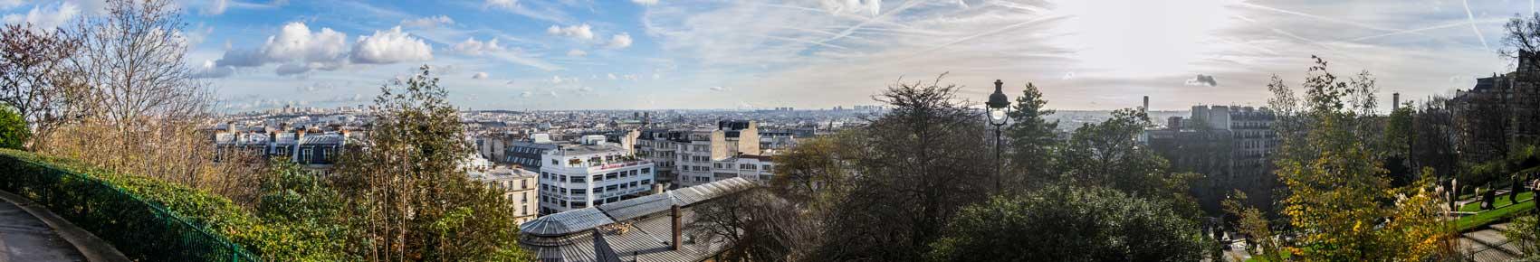 Vistas París, desde Montmartre