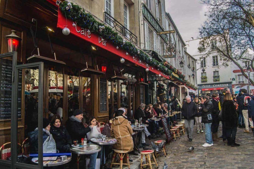 Cafetería parisina