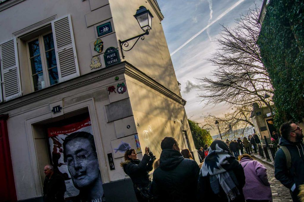 Calles Barrio de los Pintores, París
