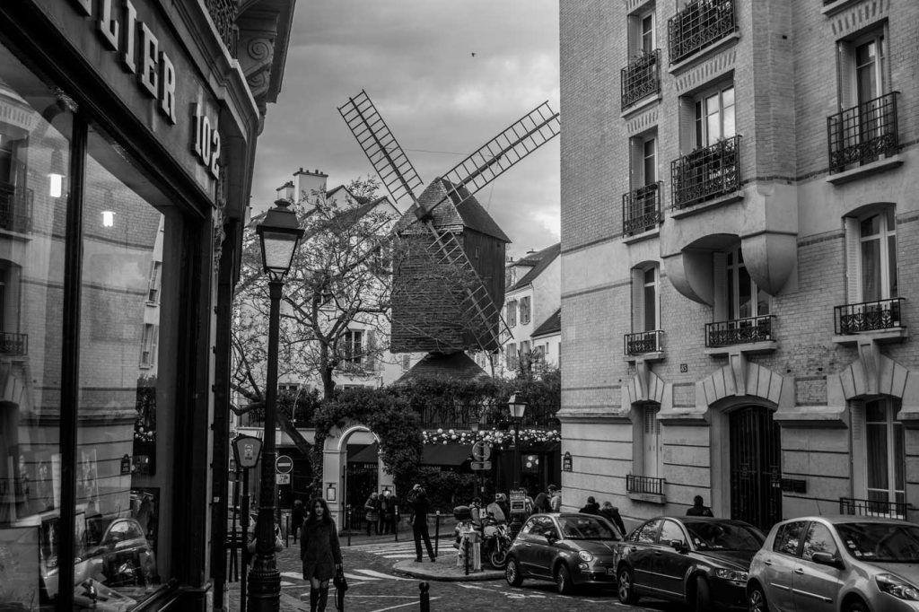 Moulin de la Galette, Montmartre París