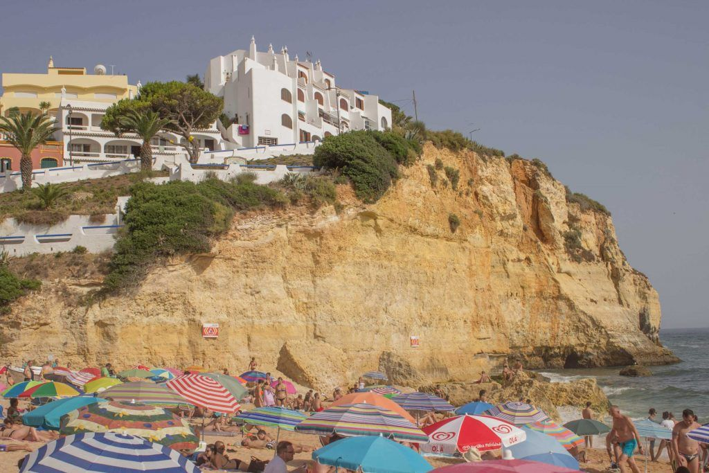 Praia do Carvoeiro. Algarve