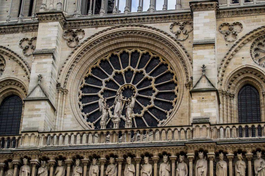 Rosetón Notre Dame