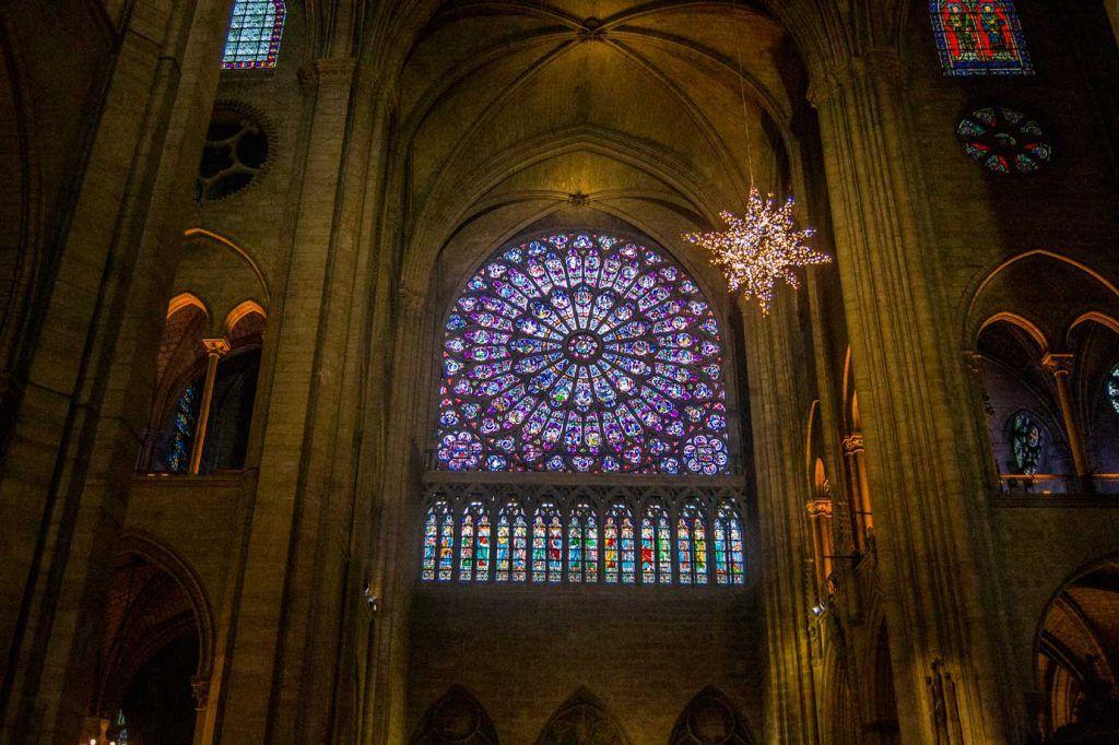 Vidrieras Notre Dame