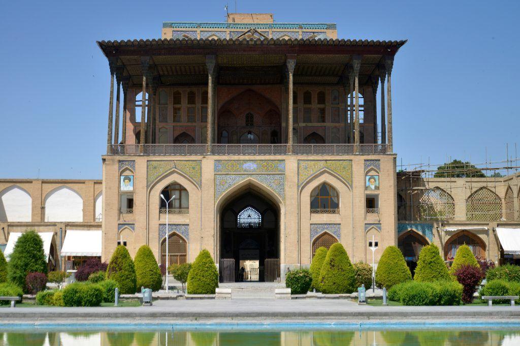 Ali Qapu, la gran puerta. Isfahan plaza mayor