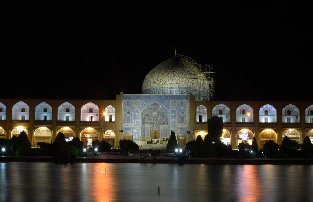 Mezquita de Luftallah, Isfahan