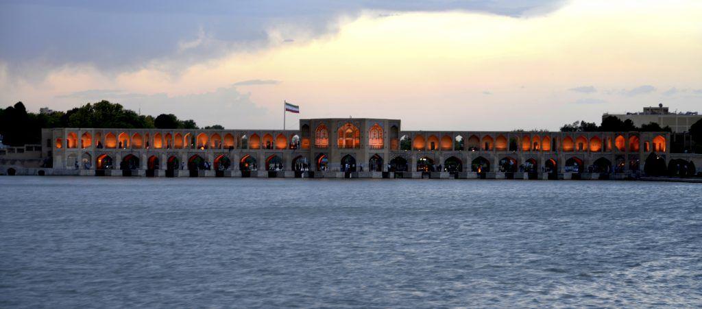 Puente Khaju, Isfahan