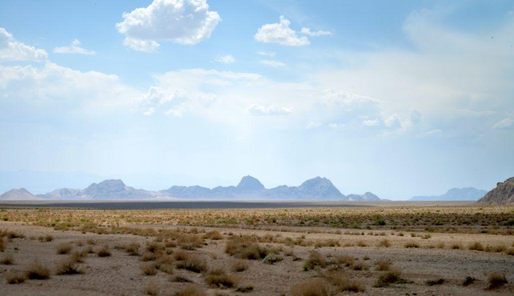 Desierto en Yazd. Irán