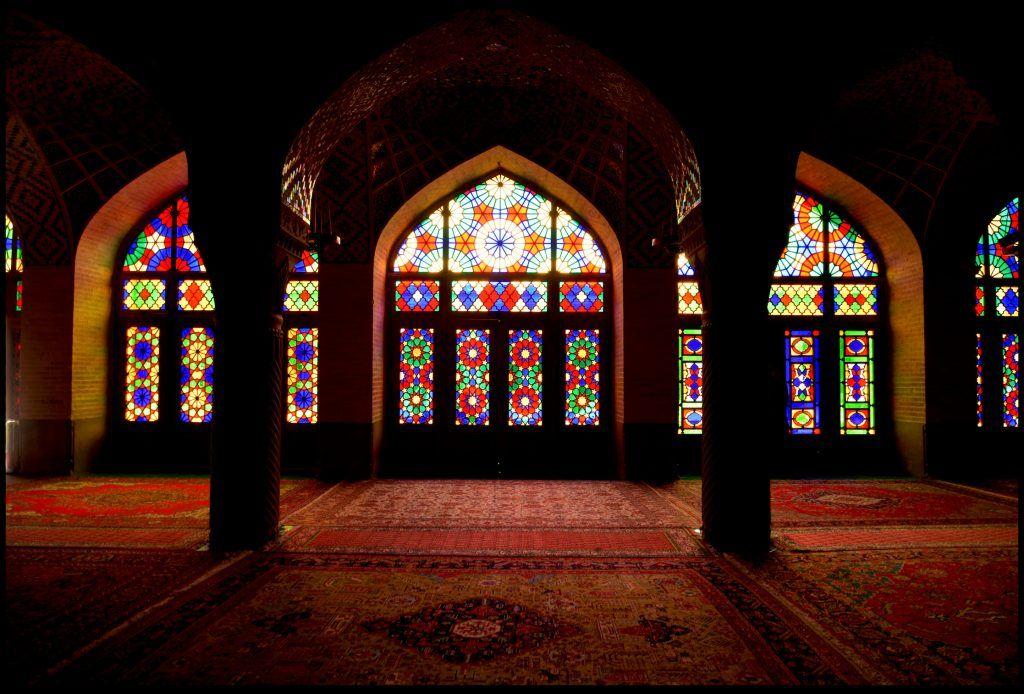 Mezquita Nasir al Mulk. Shiraz, Irán