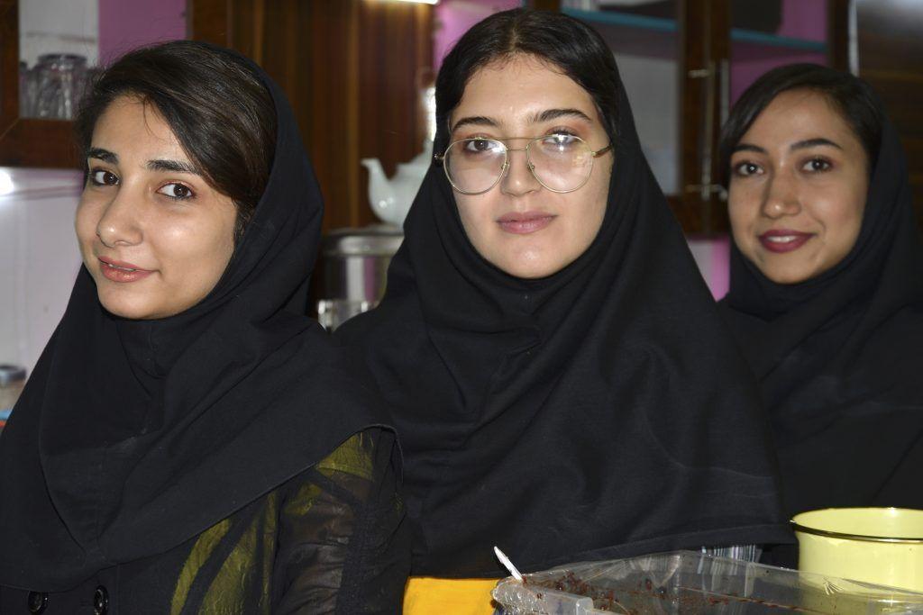 Chicas en Shiraz