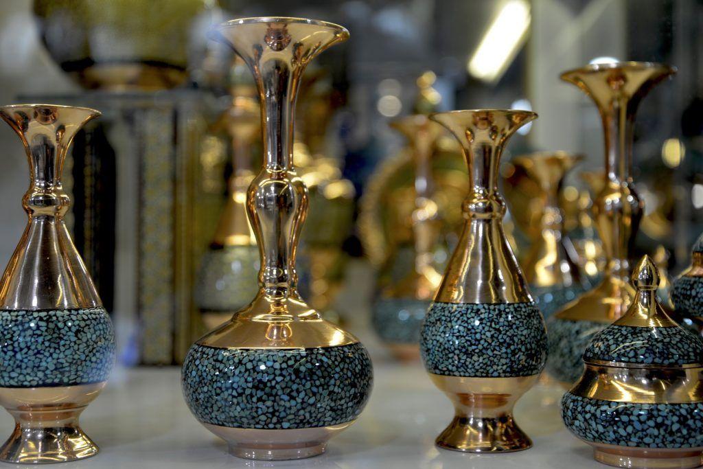 Artesanía del cobre. Shiraz