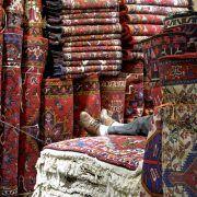 Tienda de alfombras. Irán
