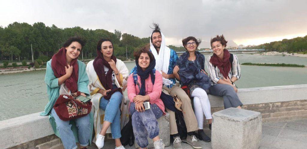 Amigos en Isfahan