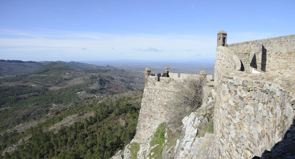 Castelo de Marâo. Serra de Mamede (Portugal)