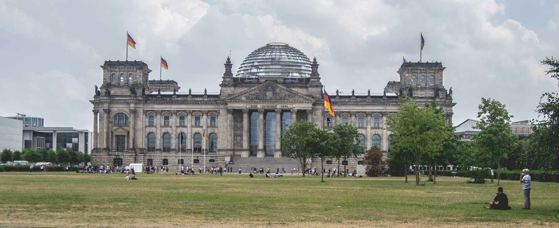 El edificio del Reichstag