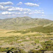 Panorámica transversal. Sierra de Gredos