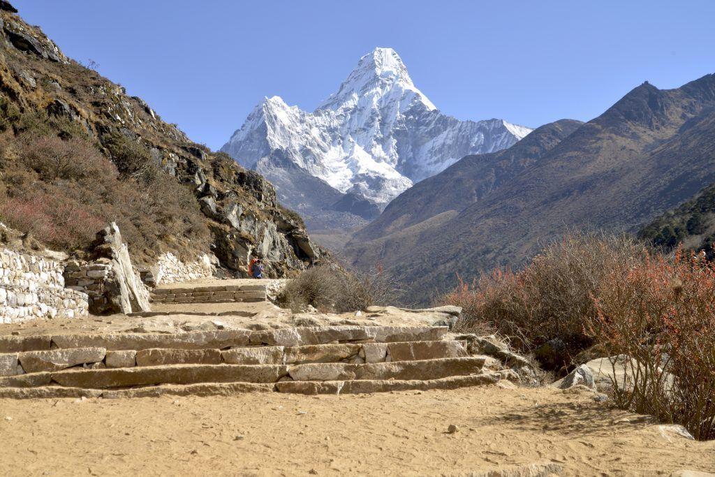 Ama Dablam. Valle de Imja Khola. Nepal