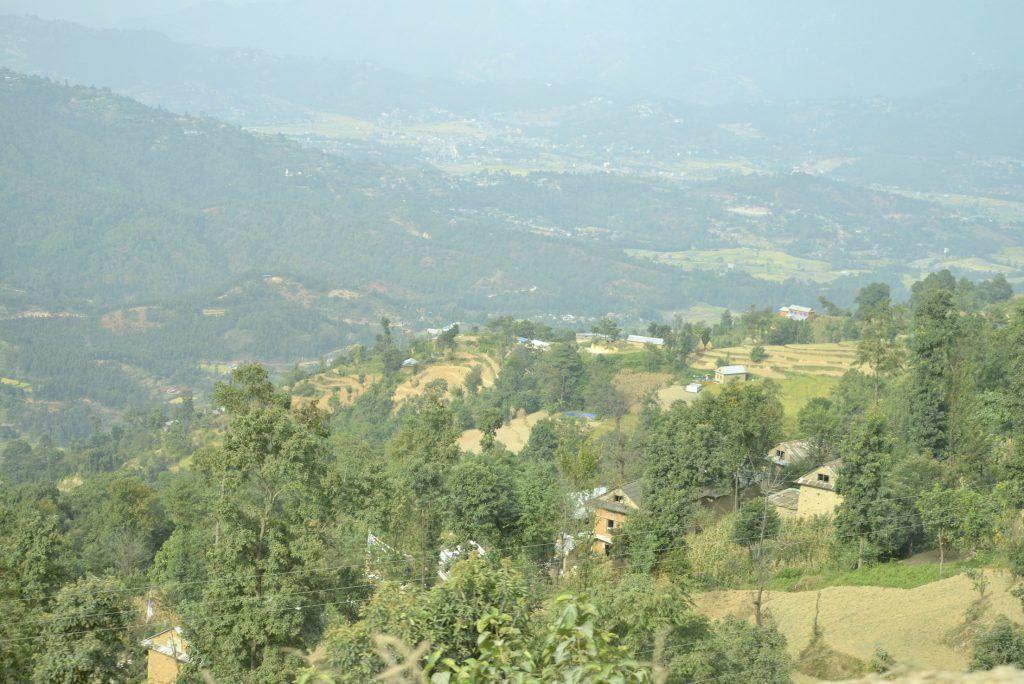 Paisaje en las inmediaciones de Katmandú. Nepal
