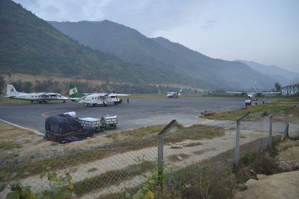 Aeródromo de Ramechhap. Manthali, Nepal