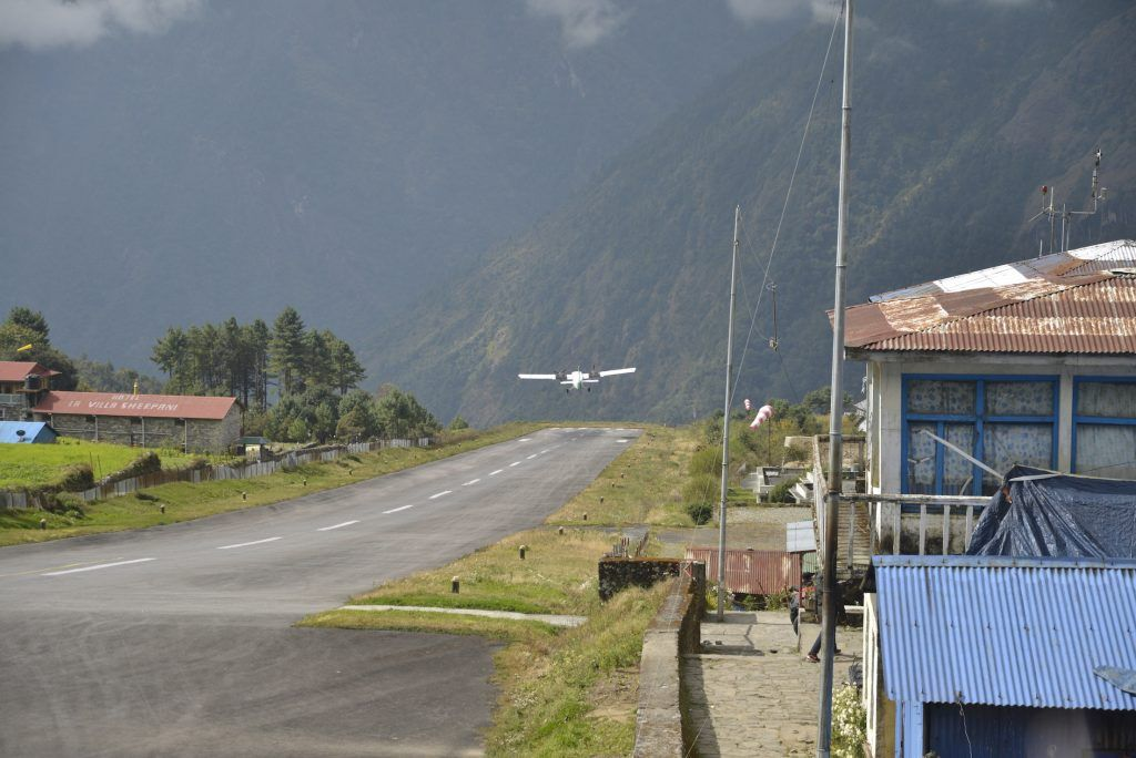 Lukla airport, the most dangerous in the world