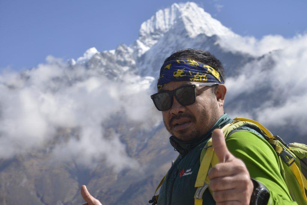 Ganesh Shrestha. Guía de montaña. Nepal