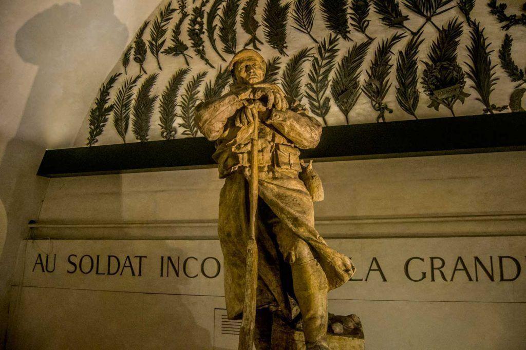Escultura, Arco del Triunfo