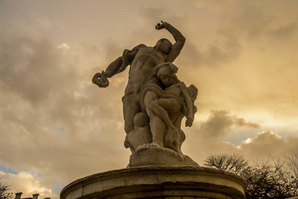 Escultura, Jardín de las Tullería